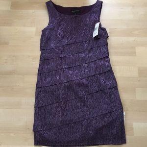 NWT Purple shimmery dress